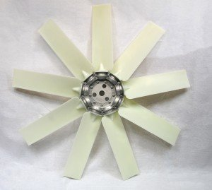 Nine-blade axial fan