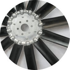 Breeza axial fan, 12-blade
