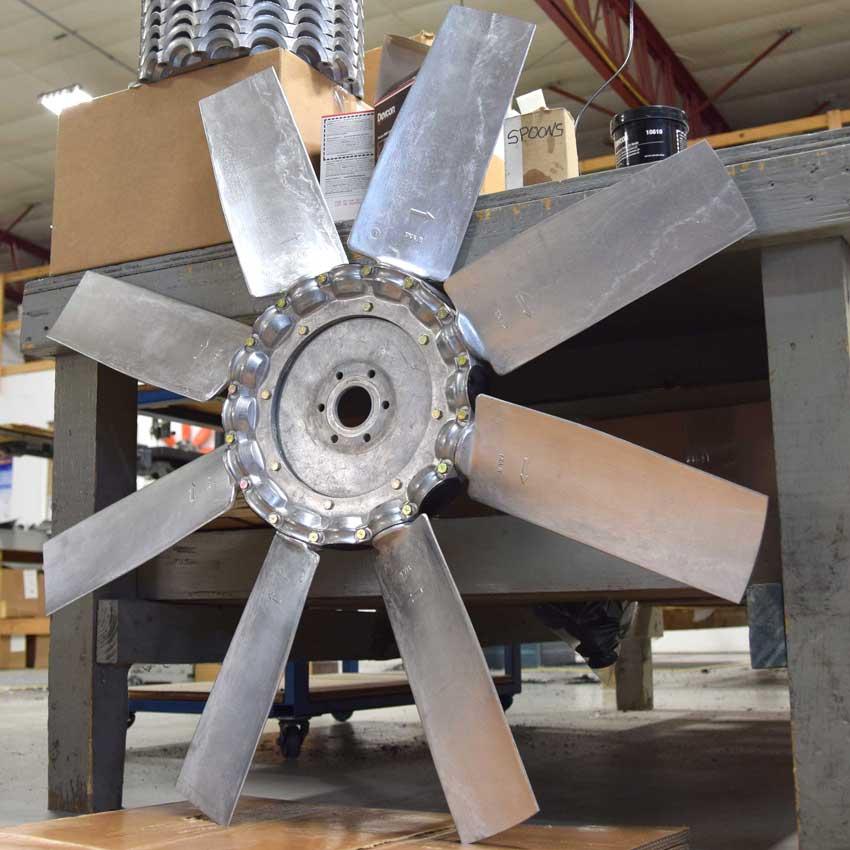 Breeza axial fan, 12-blade