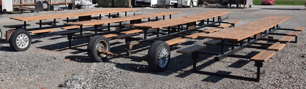 Tables built for the community of Utica