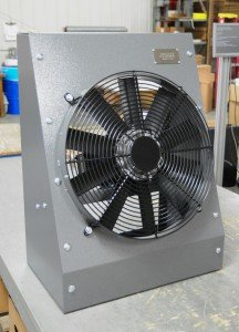 Complete engine cooling unit